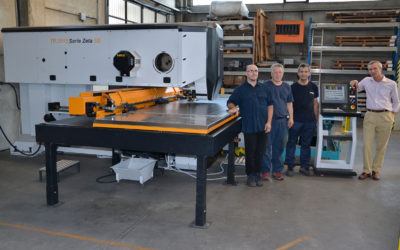 Punching machine or laser cutting machine? The answer of OSCAM COMPANY – Piemonte (Italy)