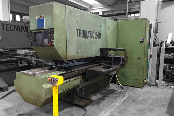 Semi automatic CNC punch press TECHNOLOGY - Retrofit