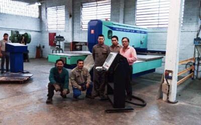 The punching machine: also a social opportunity ASOCIACION SAN GABRIEL – LA TRONCAL (ECUADOR)