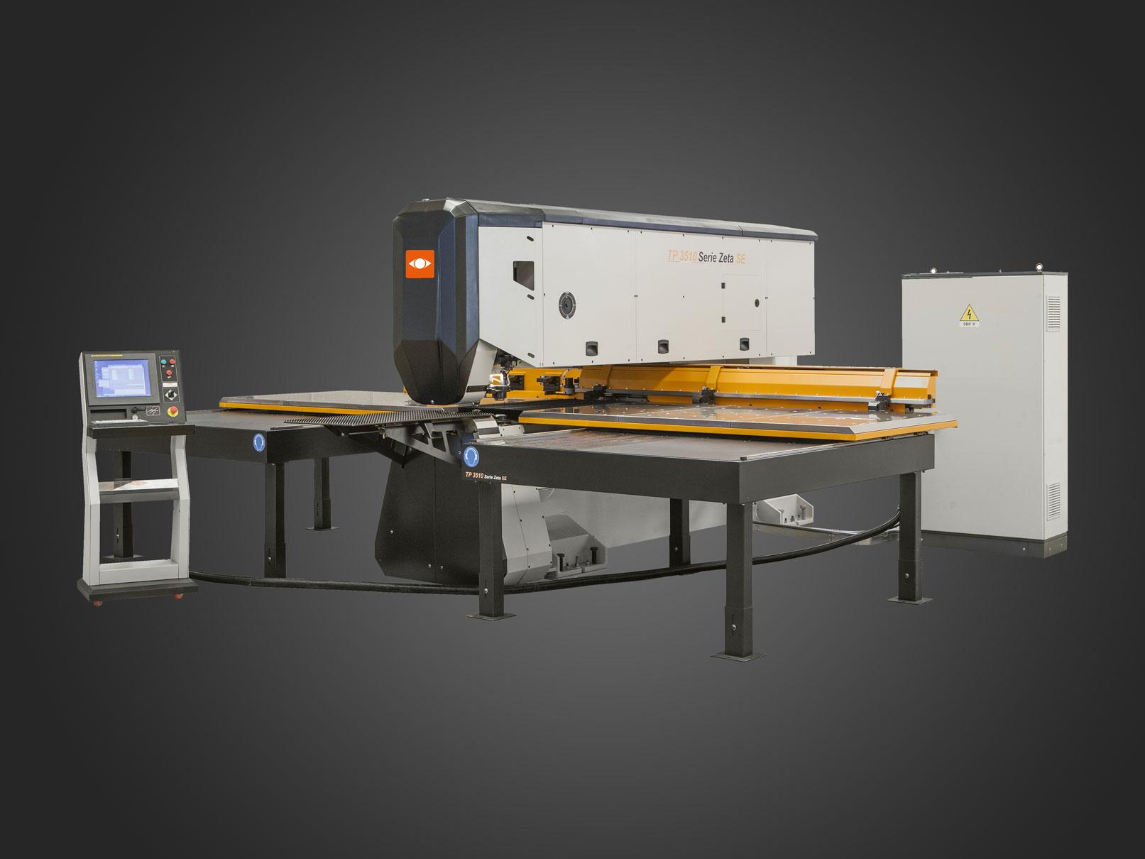 Semi automatic CNC punch machine TECHNOLOGY - Retrofit